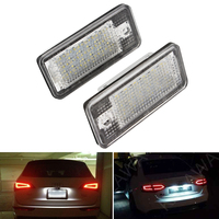 Car Styling Light Source 5W 18 LED A Pair For Audi Number Plate Light