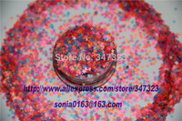 B Mix 2 5 MM Neon Color Solvent Resistant Glitter STAR Shape Glitter For Nail Polish