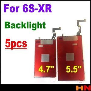 Image 1 - 5pcs for iPhoneXR 6S 7 8 plus LCD Backlight Plate LCD 3D touch Backlight Film Back Light Refurbishm 4.7 inch