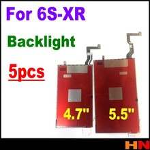 5pcs עבור iPhoneXR 6S 7 8 בתוספת LCD תאורה אחורית צלחת LCD 3D מגע תאורה אחורית סרט בחזרה אור Refurbishm 4.7 אינץ