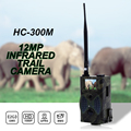 HC300M 12MP 940nm NO Glow Trail Cameras MMS GPRS Digital Scouting Hunting Camera Trap Game Cameras Night Vision Wildlife Camera
