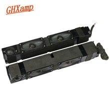 مكبر صوت تلفاز عالي الجودة بغلاف مزدوج من الحرير ذو وجهين لمكبر صوت ثلاثي الاتجاه للدراجات النارية ذاتية الصنع 4ohm 20W لأزواج Sony 1