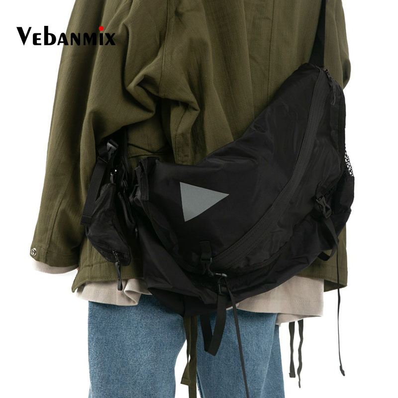 Shoulder-Bag Practical-Sling Multi-Functional Street Waterproof Large Men for Male Outdoor title=