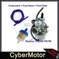 28mm Carburetor Carb Fuel Hose For Honda TRX250 TRX250TE TRX250TM TRX 250 Fourtrax Recon 2002 2003 2004 2005 2006 2007 ATV Quad