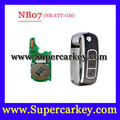 Free shipping (1 PCS)NB07 3 button remote key with NB-ETT-GM  model for URG200/KD900/KD200 machine 1pcs/lot