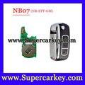 Frete grátis (1 PCS) NB07 3 botão do controle remoto chave com NB-ETT-GM modelo para URG200/KD900/KD200 máquina 1 pçs/lote