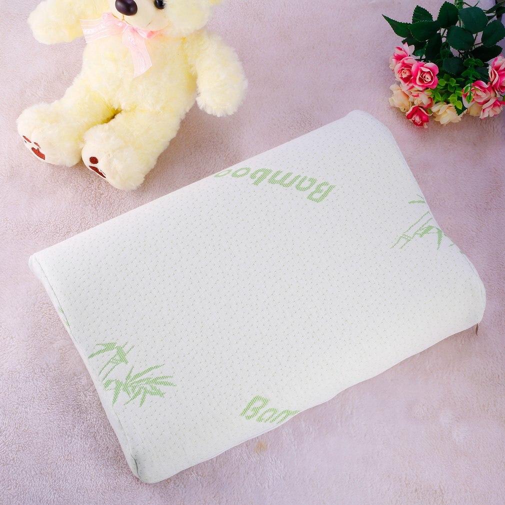 bebe criancas de bambu infantil travesseiro lento recuperacao espuma memoria travesseiro cuidados de saude espuma de