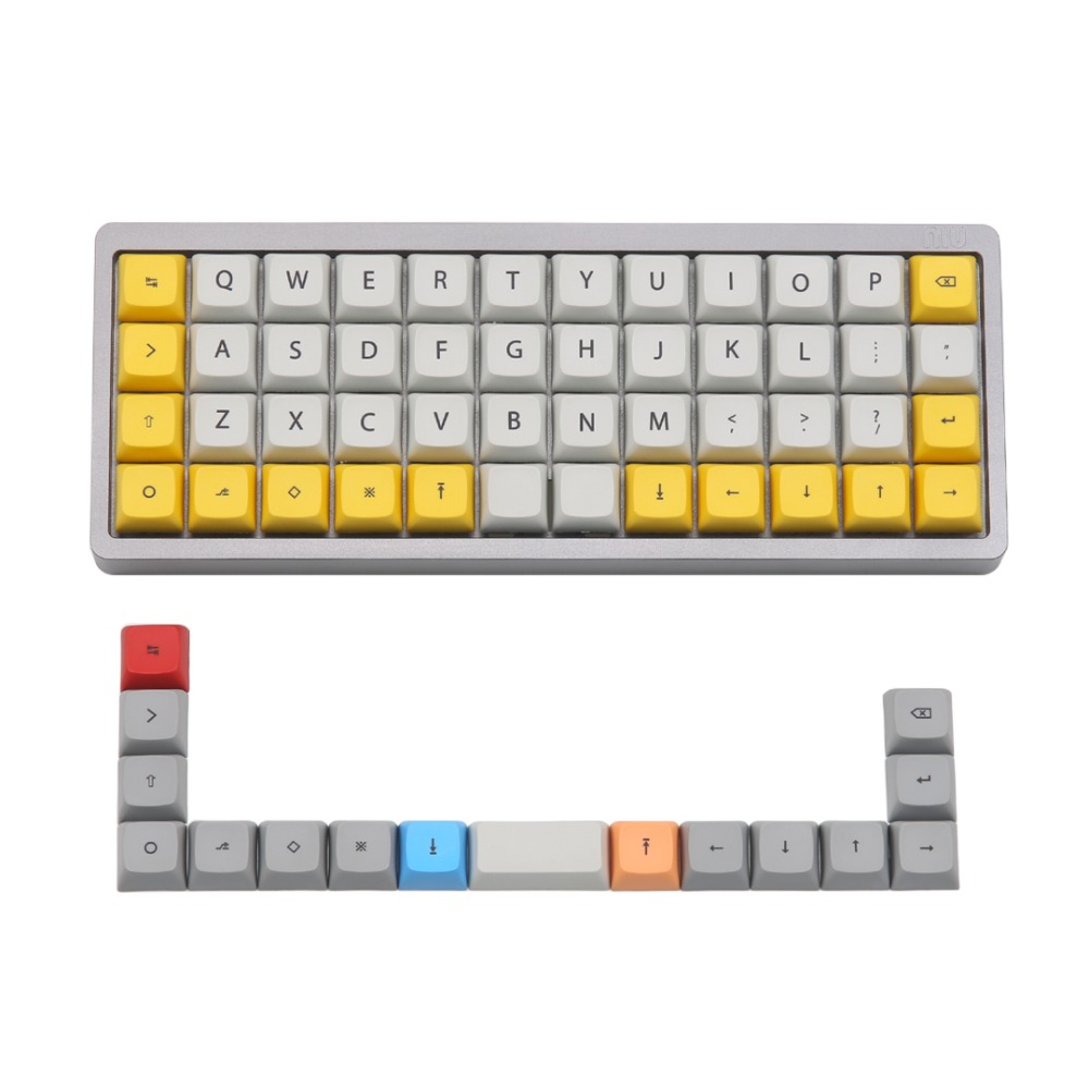 XDA 40V2 Dye Sub Keycaps Set For Kbdfans Niu 40 Mechanical