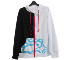 Anime Silver Soul Gintama Hoodies Sakata Gintoki Cotton Coat Jacket Zip up Sweatshirt S XXL