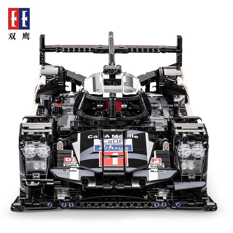 2019 nouveau C61016 Technic série 1: 95 voitures de course modèle blocs de construction 919 Endurance enfants éducatifs brique assembler briques jouets