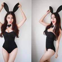 f379c6bb5 Hot Sexy 3PCS Set Catwoman Bunny Uniforms Temptation Suit Bunny Sexy  Lingerie Costumes Sex Toy