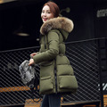 plus size pregnant women winter coat down cotton padded down jacket for maternity outerwear coat hooded warm pregnancy clothing