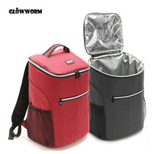 20L 600D oxford big cooler bag thermo lunch picnic box insulated cool backpack ice pack fresh carrier thermal nevera portatil