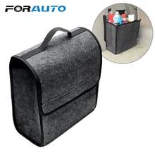 FORAUTO багажник автомобиля хранения сумки автомобилей Организатор держатель Box авто сзади чехол для хранения спинки сиденья сумка для инструментов складной мягкий войлок стайлинга автомобилей