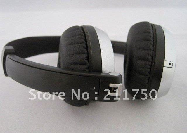 on-ear headphone for mp3 mp4 psp brand new stereo headphones free shipping**2pcs/lot** hot!!