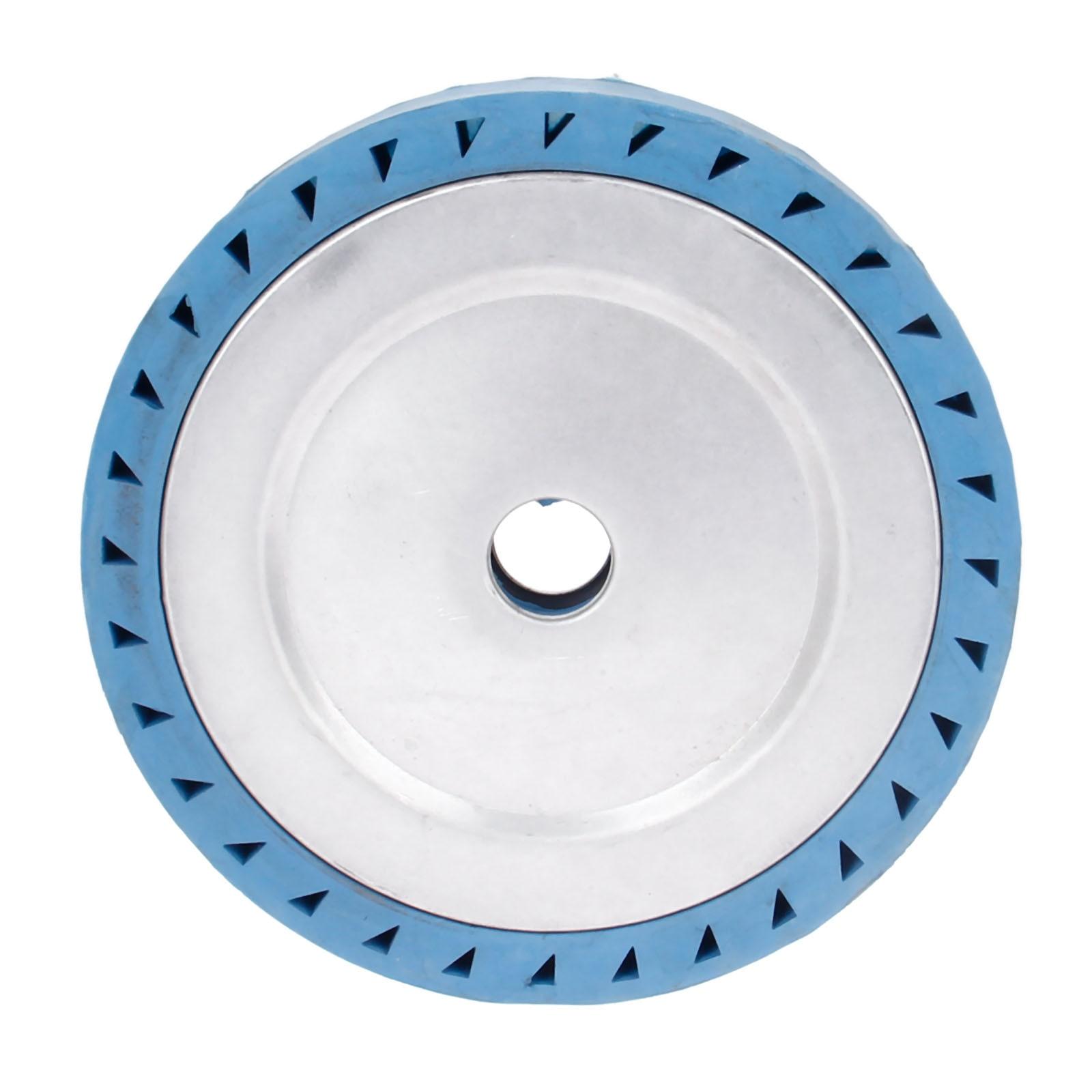 DRELD 200*40*32mm Solid Rubber Contact Wheel For Belt Grinder Sander Polishing Chamfering Grinding Wheel Abrasive BeltDRELD 200*40*32mm Solid Rubber Contact Wheel For Belt Grinder Sander Polishing Chamfering Grinding Wheel Abrasive Belt