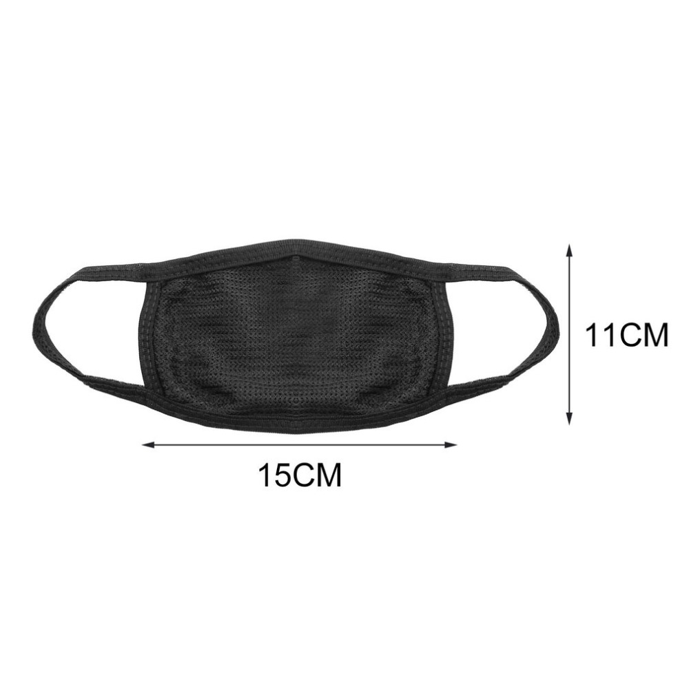 Face Mask Cotton Mouth Mask Black Anti Haze Dust Masks Filter Windproof Mouth-muffle Bacteria Flu Fabric Cloth Respirator Men's Accessories Apparel Accessories