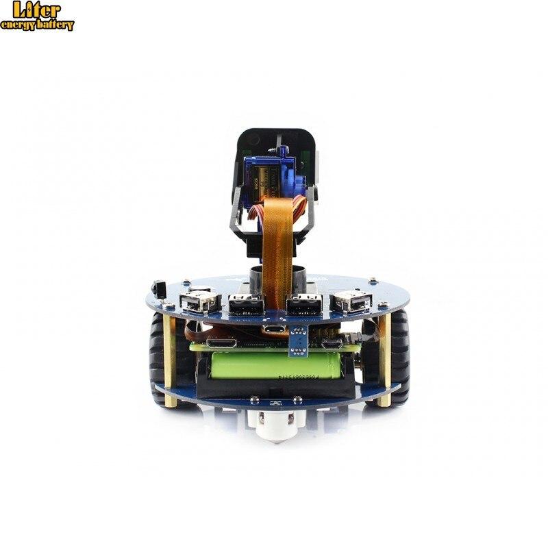 AlphaBot2 Robot Building Kit For Raspberry Pi Zero WH, With Controller Raspberry Pi Zero WH (built-in WiFi, Pre-soldered Headers