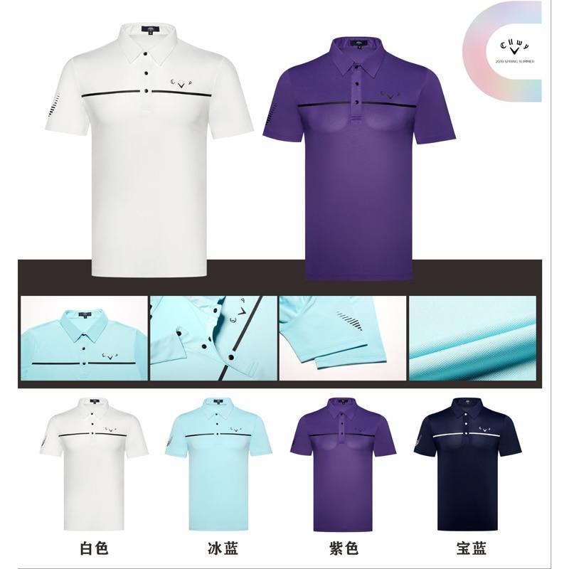Hommes chemise de golf été nouveau maillot respirant hommes vêtements web