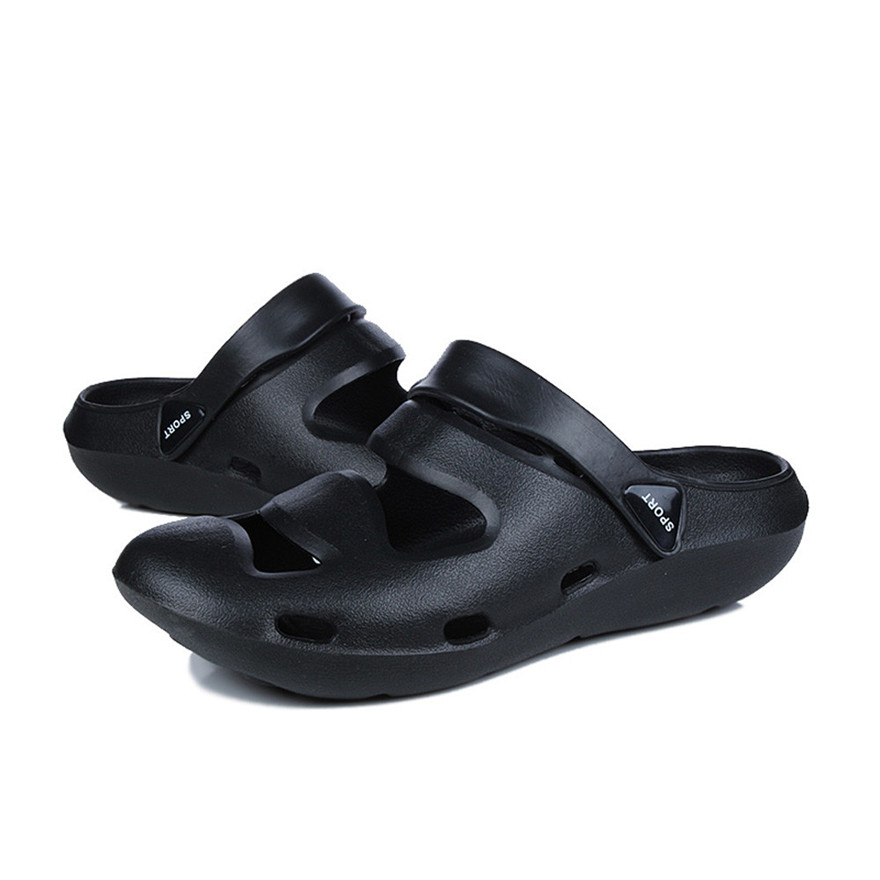 Summer Shoes Comfort Anti-Slip Shower Sandals Breathable Me Slippers Hold Lighted Casual Shoes Outdoor Beach Shoes MAY 22