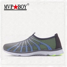MVPBOY Brand Comfortable Breathable Men Shoes,Super Light Quality Men Casual Shoes Summer Mesh Slip-On Casual Men Beach Shoes