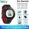 Vidrio Templado VSKEY 20 piezas para Garmin Forerunner 235 230 220 225 630 620, Protector de pantalla redondo, película protectora para Smartwatch