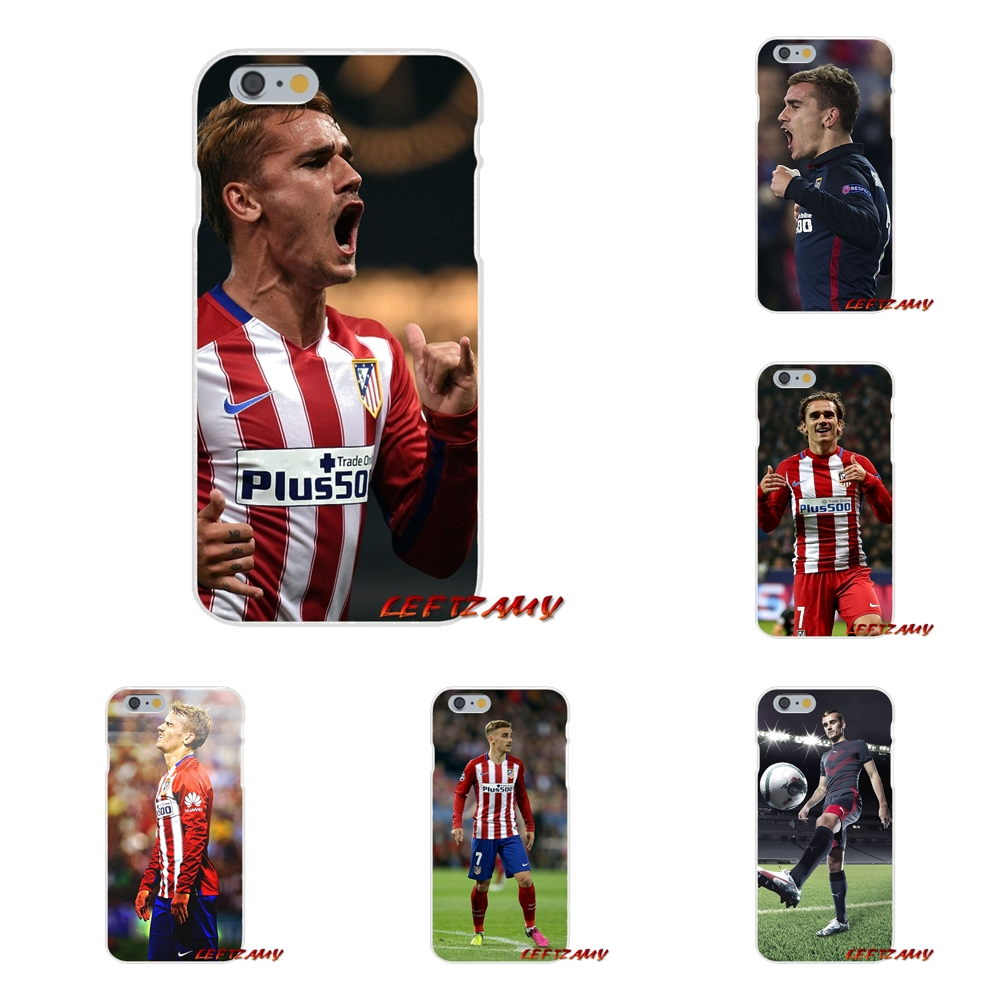 Antoine Griezmann Soccer Star Slim Silicone phone Case For iPhone X 4 4S 5 5S 5C SE 6 6S 7 8 Plus