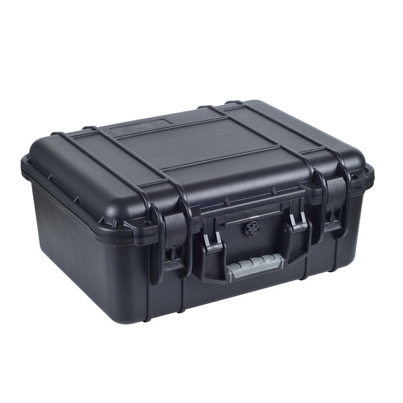 Plastic Sealed Waterproof Safety Equipment Case with full precut foam full cube precut foam for case sq1284 without the hard case
