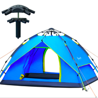 Hydraulic automatic tent quick opening 3 4 outdoor camping supplies waterproof Multipurpose sun shelter