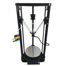 200 мм в диаметре, 300 мм в высоту размер печати, Автоматический уровень тепла кровать Новейшие HE3D K200 дельта DIY 3D принтер один экструдер