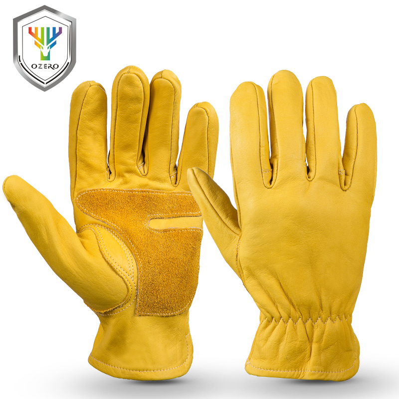 OZERO The Cowhide Sports Moto Gloves Work Driver Safety Waterproof Anti Cold Anti Snowboard Hiking Hunting Gloves For Men 1016OZERO The Cowhide Sports Moto Gloves Work Driver Safety Waterproof Anti Cold Anti Snowboard Hiking Hunting Gloves For Men 1016