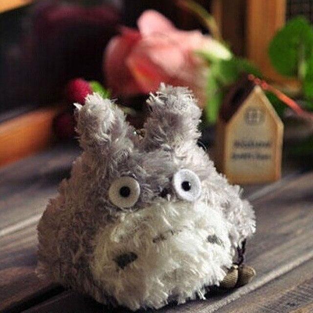 8 CM Totoro Boneca de Brinquedo de Pelúcia Chaveiro Boneca de Brinquedo de Pelúcia Kawaii meu Vizinho Totoro Bolsa Pingente Brinquedo Buquê de Casamento Boneca de Brinquedo B0844