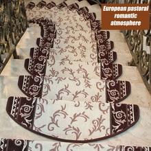 에보니 카펫 계단 발판 매트 없음 접착제 셀프 접착제 1 조각 커피 안티 슬립 키드 보호 패드 기계식 세차장 홈 데코