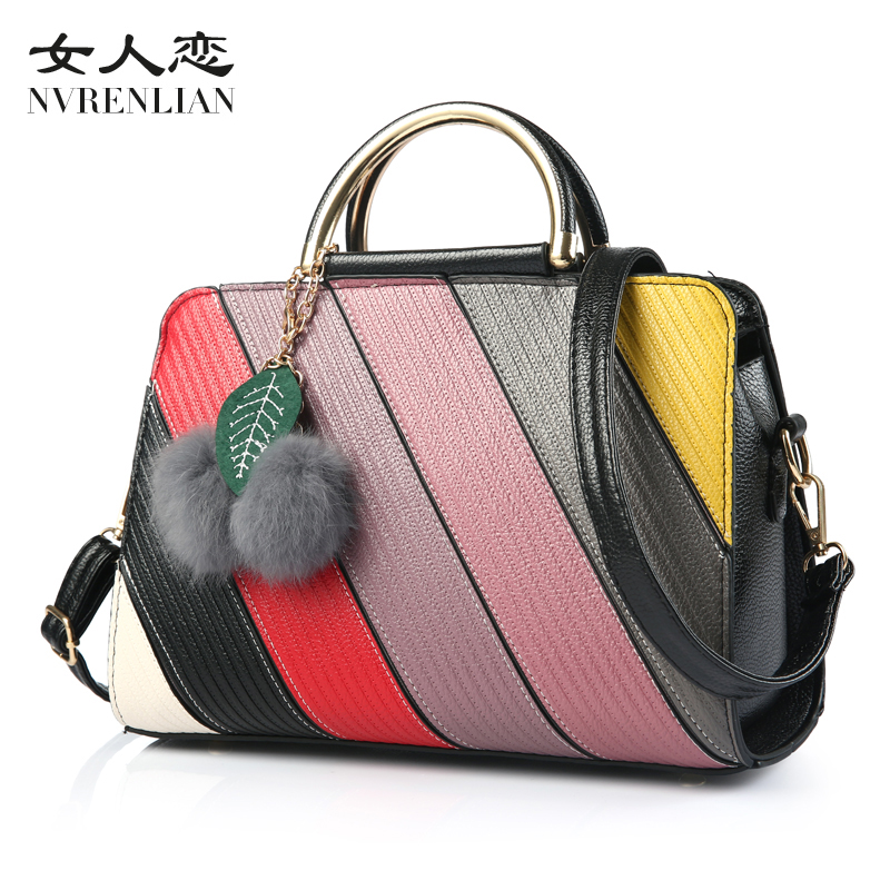 New Arrive Women All-match Bag Fashion PU Handbag High Quality Medium Shoulder Bags Winter Women Shoulder&handbags Free Shipping  new arrive women leather bag fashion zipper handbag high quality medium solid shoulder bag summer women messenger bag