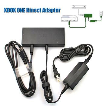 Ue wtyczka UK US Dealonow USB 3 0 Adapter do konsoli XBOX One S SLIM X Kinect Adapter nowy zasilacz Kinect 2 0 czujnik dla Windows10 tanie i dobre opinie Liplasting CN (pochodzenie) Odbiorników TELEWIZYJNYCH Dekoderów Monitory 12 v Podłącz xbox one slim x EU UK US