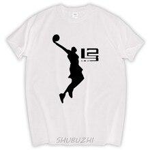 35e907a98 summer new Cavalier LeBron James Men s cotton T-shirt maillot de basket  bodybuilding jersey for