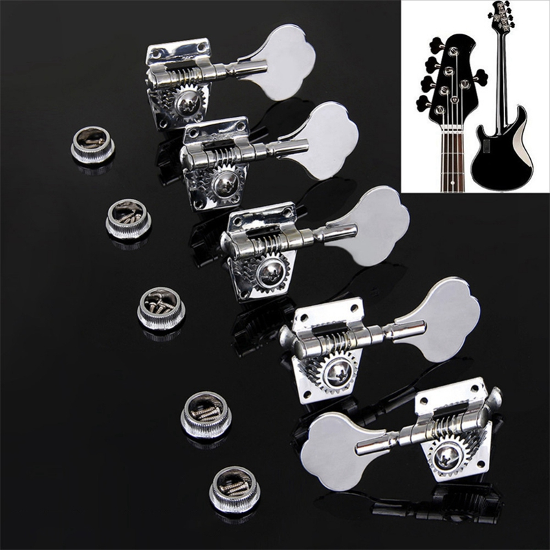 1pc Vintage Jazz Precision Bass Tuning Pegs Open Geared Bass Tuners Machine Head Bass Replacement Bass Accessories