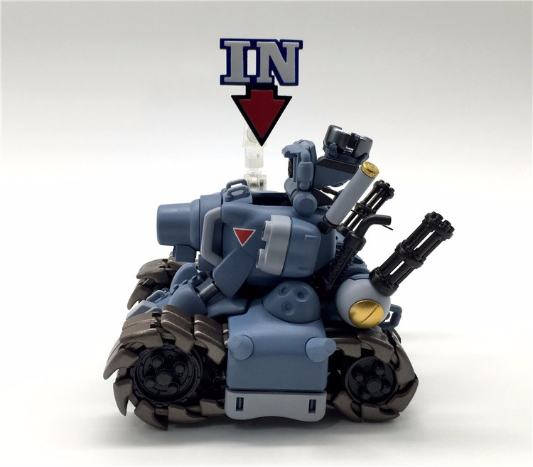 Metal slug tanque modelo figura de ação lutador avião metal slug armas ataque mini coleção montado modelo brinquedos babosa metalica