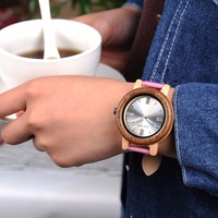 BOBO BIRD L P29 Ladies Bamboo Wood Wristwatches Luxury Brand Japan Quartz Relogio For Women Watch