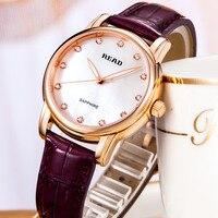 luxury lady watchwrist READ leather strap women watches 2019 sapphire crystal horloges vrouwen mode luxe merk 6032 watch women