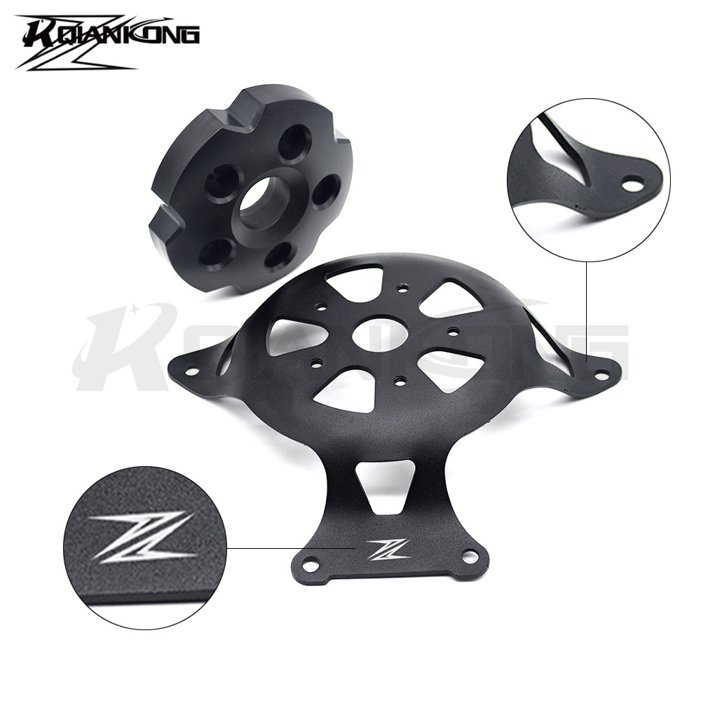 CNC Aluminum Crankcase Motorcycle Stator Engine Covers Crank Case For Kawasaki Z800 Z750 2013-2016 With logo for kawasaki z750 motorcycle engine stator cover aluminium alloy engine guard protector with z750 logo for z750 2013 2014 2017
