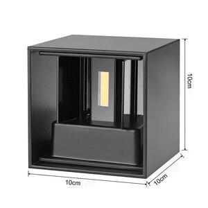 Image 4 - QLTEG חיצוני עמיד למים IP65 מנורת קיר תאורה דקורטיבית מקורה אור קיר הוביל מודרני מנורות קיר מרפסת אורות גן מנורות קיר