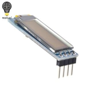 Image 4 - Модуль светодиодного дисплея WAVGAT, 0,91 дюйма, 0,91 дюйма, синий, белый, 0,91X32 O светодиодный ЖК дисплей, модуль светодиодного дисплея дюйма, IIC Communicate