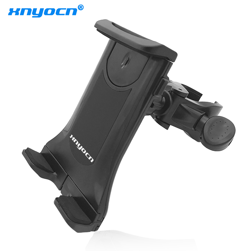 Alça de bicicleta universal Suporte para telefone tablet Suporte para motocicleta Alça de montagem para carro Suporte para iPad (7-11 polegadas) Iphone 7 6S