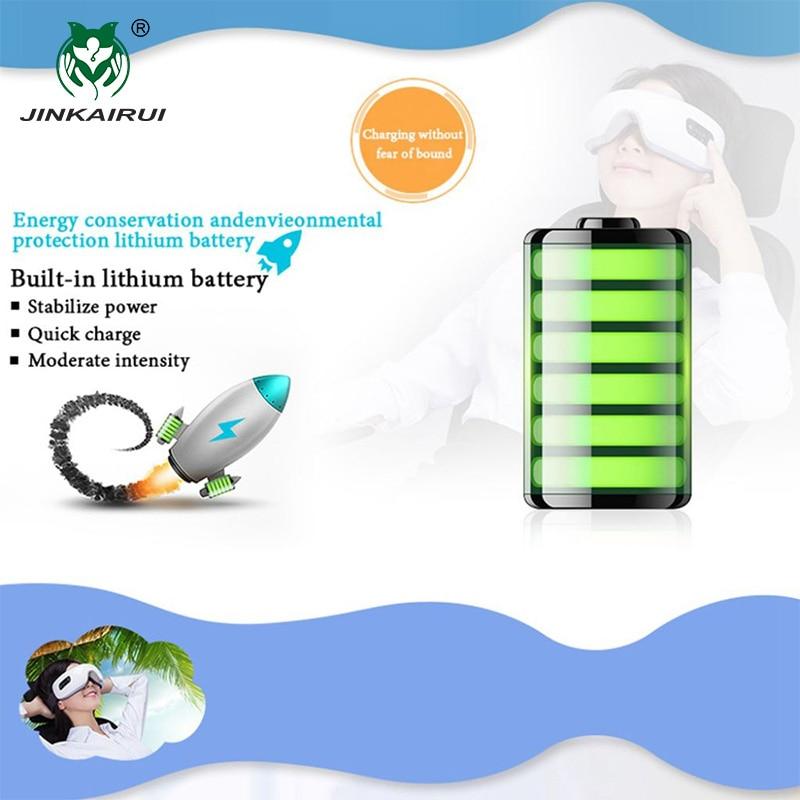 JinKaiRui Wireless Rechargeable Eye Massager Far-infrared Heating - Penjagaan kesihatan - Foto 5
