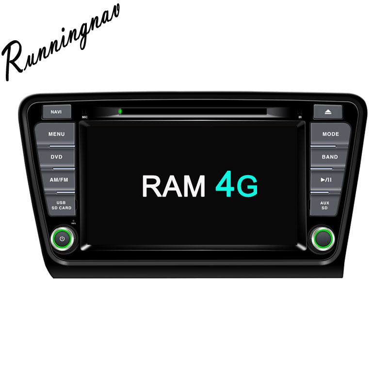 Android 8.0 Octa Core PX5/PX3 Fit SKODA OCTAVIA 2014 2015 2016 2017 Car DVD Player Navigation GPS Radio