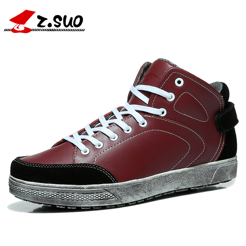 Z. Suo men's shoes, Do old retro men's shoes, leisure fashion Do the old men age season shoes man. Chaussures hommes zs1201 z suo men s shoes the new spring and autumn ankle leather casual shoes fashion retro rubber sole lace mens shoes zsgty16066