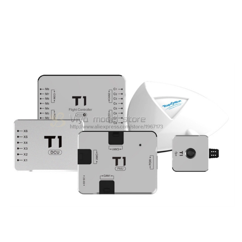 TopXGun T1-A Agricultural drone UAV flight controller with DCU Support Quadrotor Hexarotor Octarotor agriculture spraying FCU socio economic factors governing agricultural innovations in a village