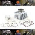2013 Nueva 250cc 65.5 MM Big Bore Kit 14 unids/set para CG200 Motor, modificación necesaria, envío Libre por el epacket