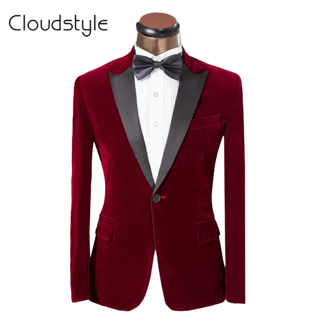 2016 Costume Homme Luxury Brand Clothing Men Groom Suit Jacket Wedding Suit Classic Red Suits